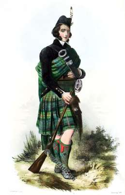 Macdonnel of Glengart. Clan. Tartan. Scotland. Clans of the Scottish Highlands.