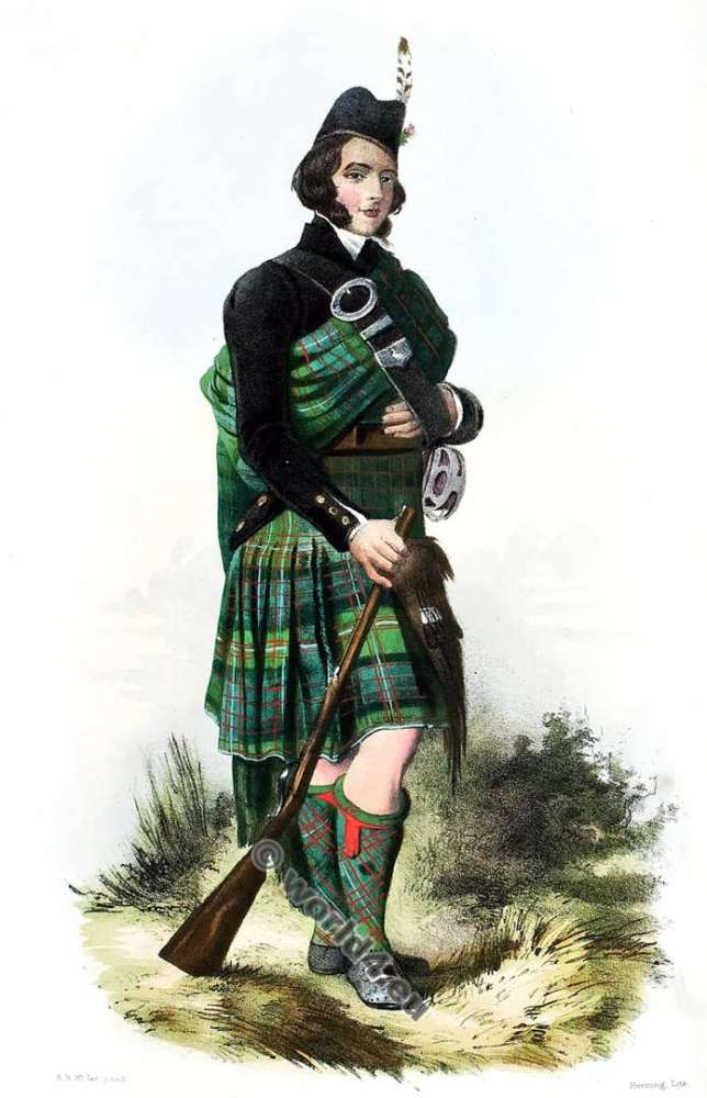 Macdonnel of Glengart. Clan. Tartan. Scotland. Clans of the Scottish Highlands.