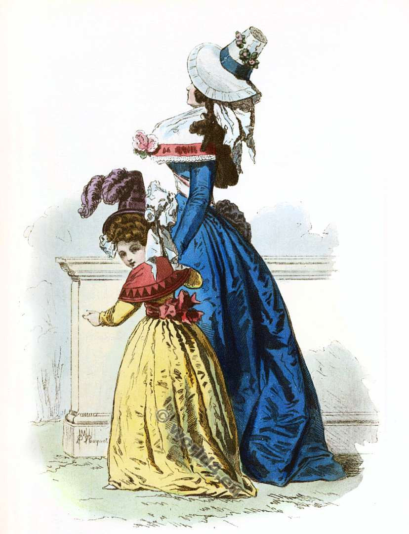 The French Minimalist Capsule Wardrobe Winter 2018 2019: Fashion Under The French Revolution 1789 To 1802