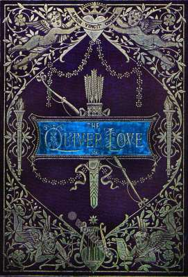 The Quiver of Love. A collection of Valentines ancient and modern. Book cover. Illustration. Angels. Amor.