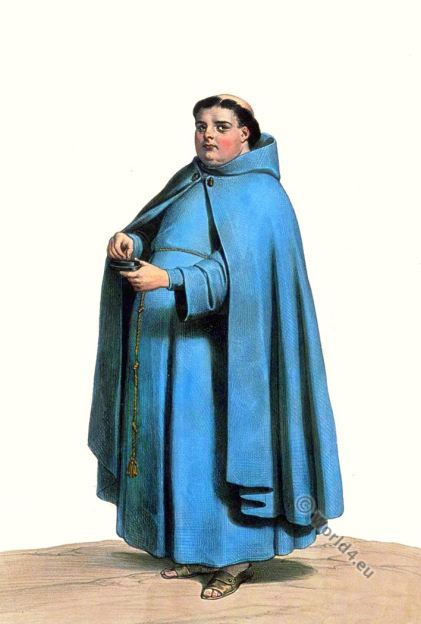 Friar. Order of St. Francis. Costume. Spain.