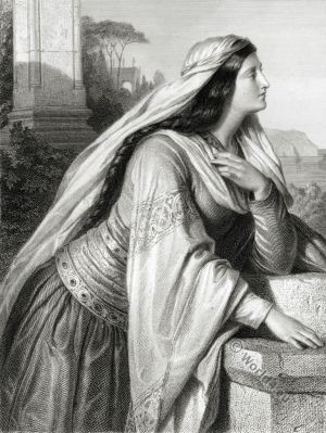Beatrice. The Bride of Messina. Friedrich Schiller. German Romantic.