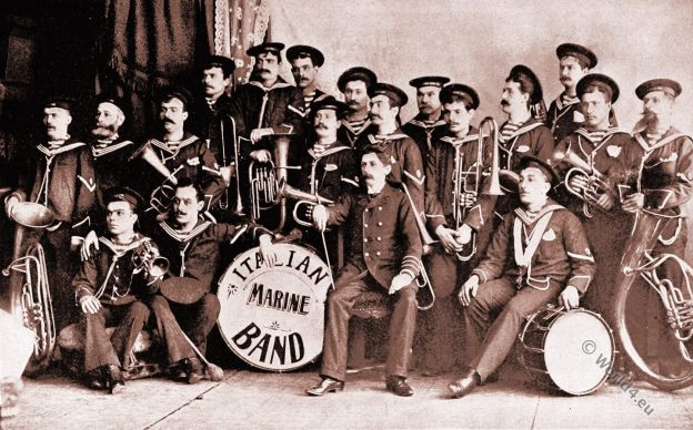 Italian Marine Band. Chicago World's Fair