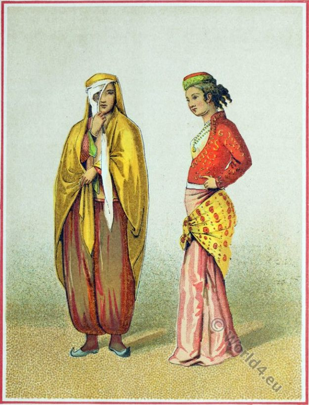 Persian House And Street Clothes Iran 18th Century Costume History
