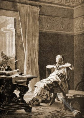 Archimedes, Syracuse, Greek clothing, mathematician, physicist, engineer, Antique