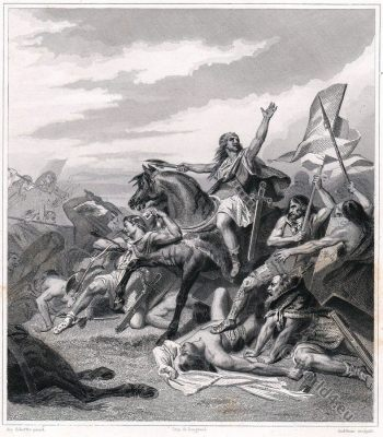 Clovis, Francs, Mérovingien, Battle, Tolbiac, Bataille