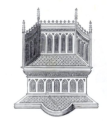 Medieval Throne, England 14th century, ehan de Grise, Bodleian Library