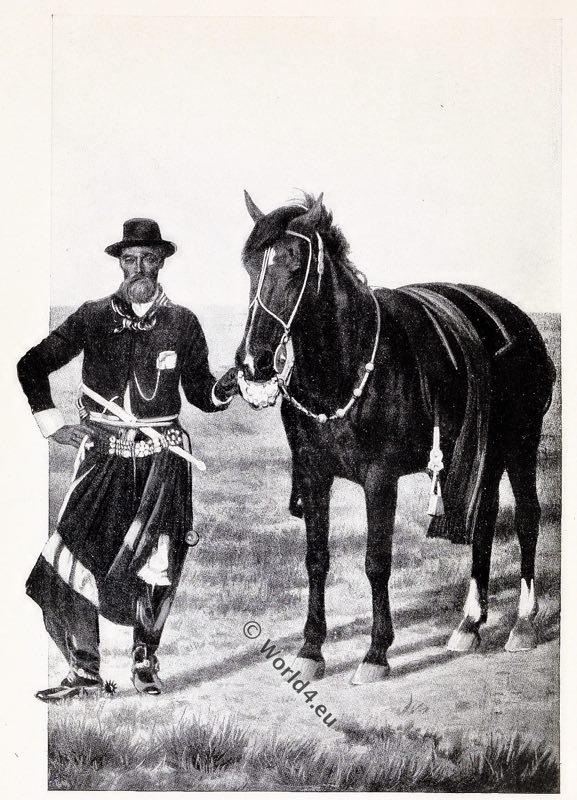 Argentine, Gaucho, costume, dress, traditional