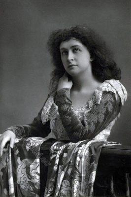 Emma Hayden Eames, American opera singer, vocal pedagogue, victorian fashion era