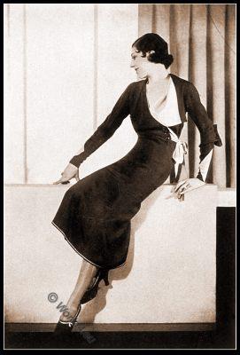 Agnès-Drecoll, Art Deco, fashion history, costume, haute couture, France