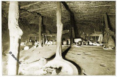 Zulu, interior, hut, tribe, tribal, South Afrika, colonialism