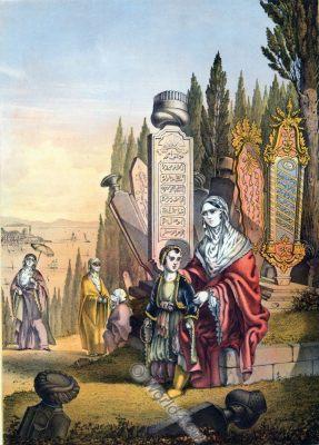 Armenian Ladies, Oriental Album, Ottoman costumes, Ottoman Empire, Historical Clothing, Turkey, Costume history