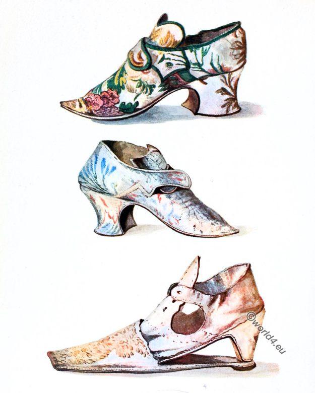 Shoe, fashion, baroque, 18th century,