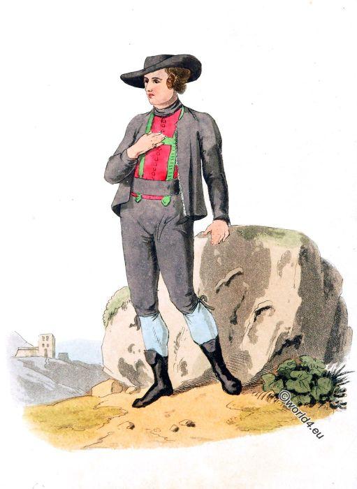 Clothing, Peasant, Austria, dress, costume, traditional