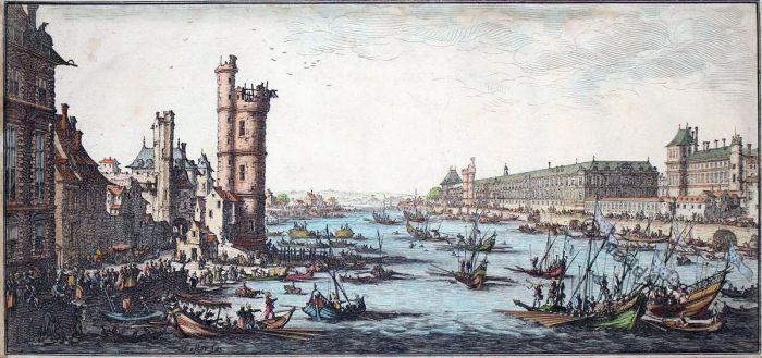 Louvre, Jacques Callot, Paris, Pont-Neuf, Renaissance,