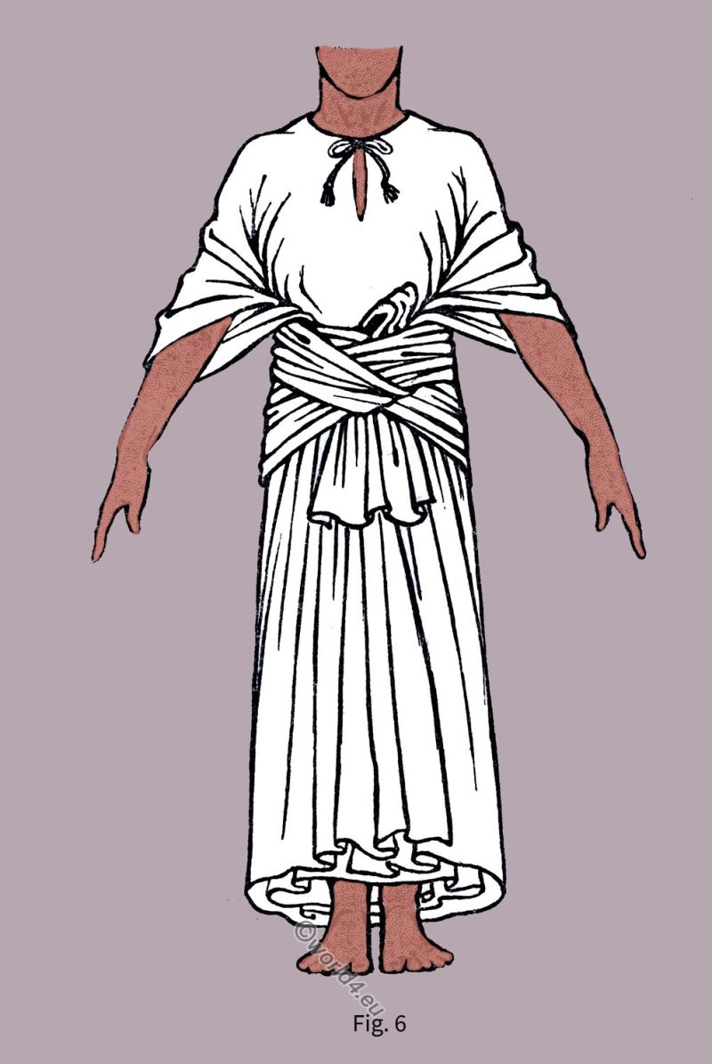 Ancient, fashion, Garment, history, Egyptian Robe