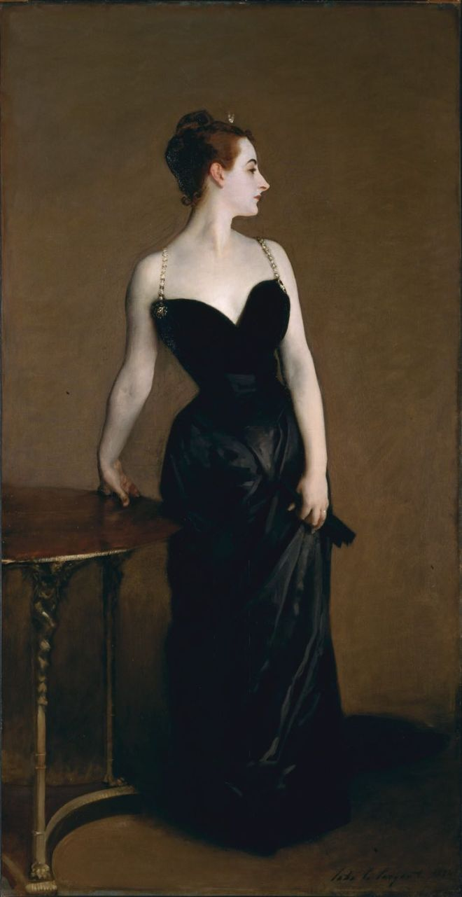 Madame X, Scandal, portrait, Belle Époque, Paris,