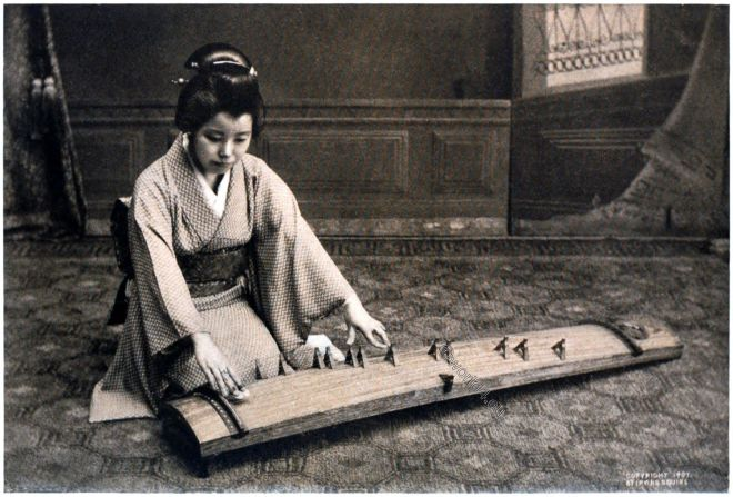 JAPAN, KOTO, music, instrument