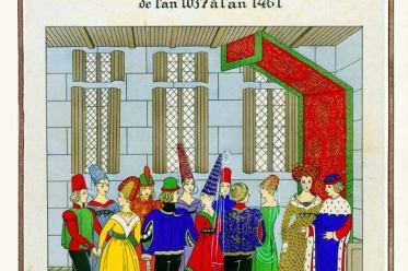 Moyen Âge, danse, Chansons, Roy Charles VII, Paul Louis Victor de Giafferri