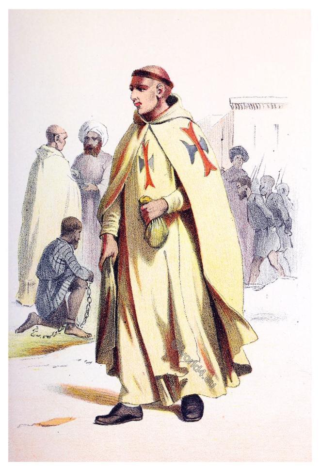 Trinitarian, Trinitarians, Religious, orders, Habit,