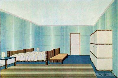 Corridor design in an old apartment by wilhelm dechert lost and