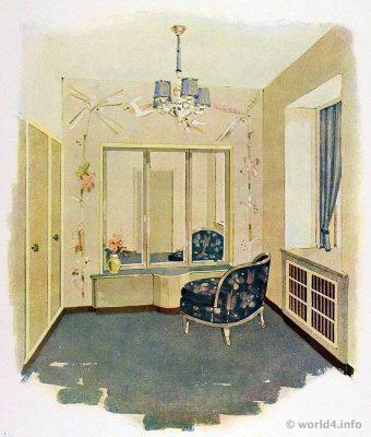 Art Deco Interior Design Color And Furniture 1930s