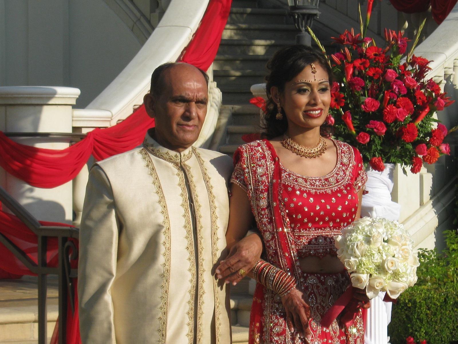 the stunning bride