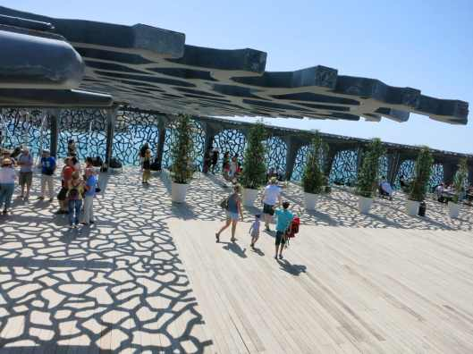 top of MUCEM Marseille