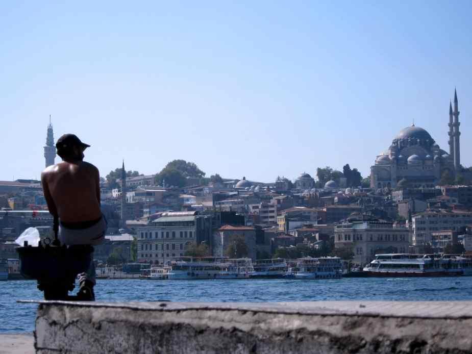 Fisherman Istanbul Golden Horn