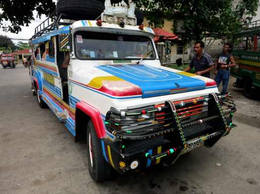 Easyride (Jeepney) from Dumaguete to Valencia Negros Philippines