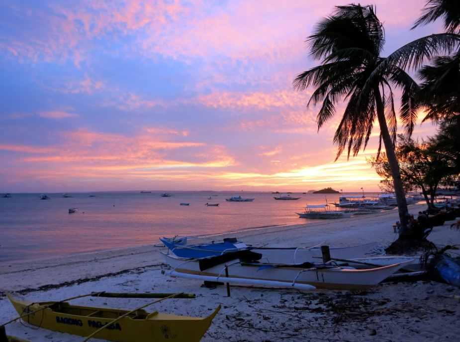 Sunset Malapascua Philippines