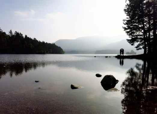 Loch an Eilein Cairngorm National Park Highlands Scotland