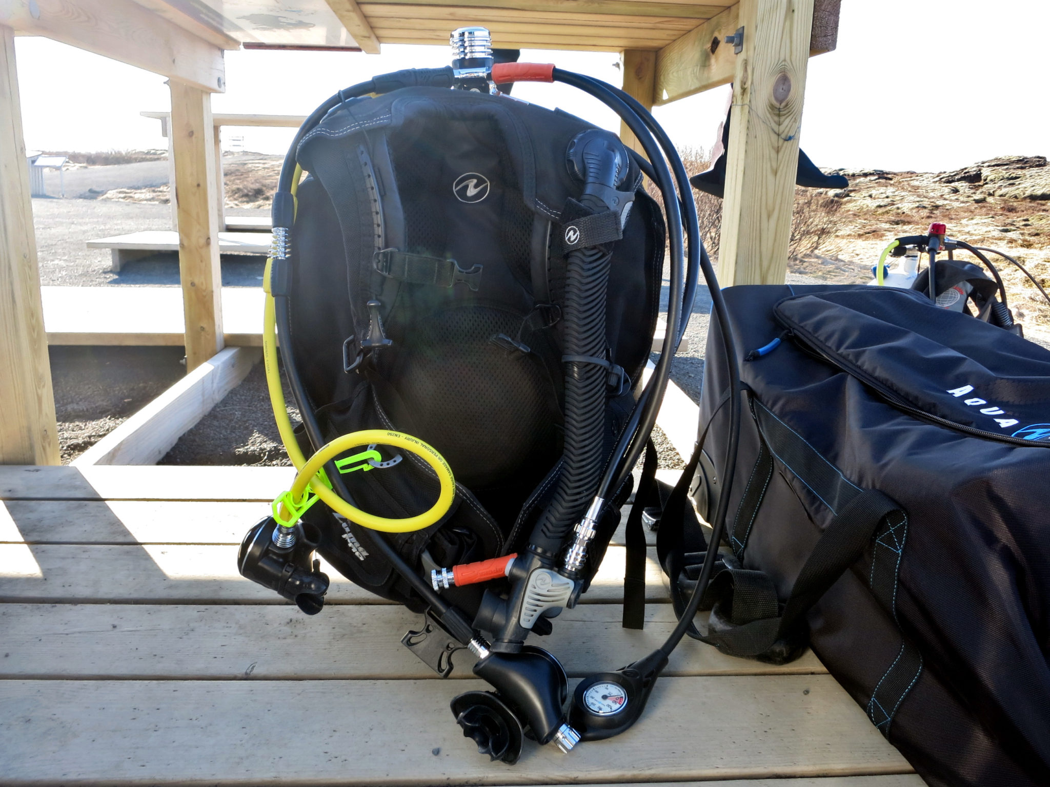 Matériel de plongée Silfra Islande