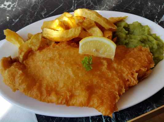 Fish and Chips Seahouses England UK