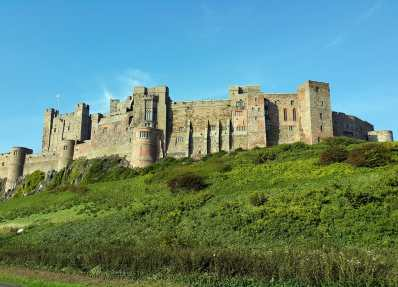 Bamburgh Castle England UK