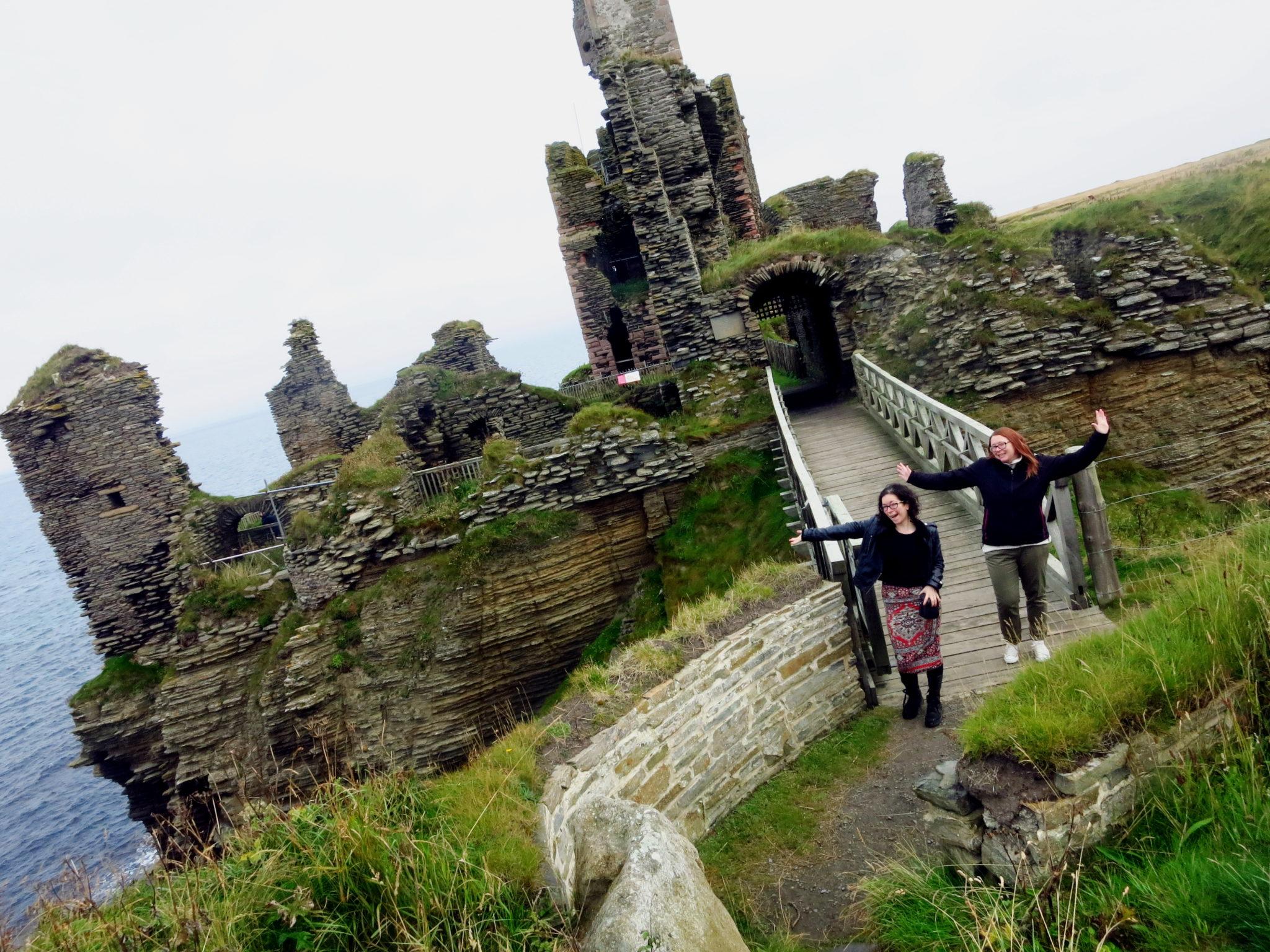 Sinclair Castle Caithness Scotland
