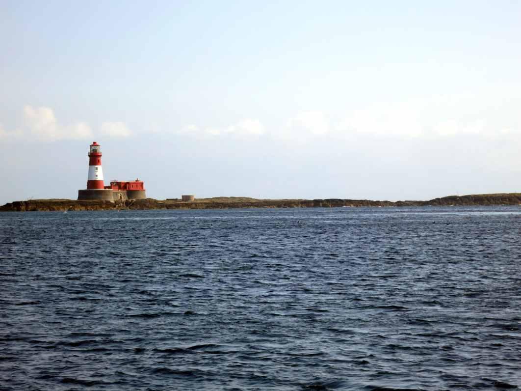 Longstone Lighthouse Farne Islands England UK