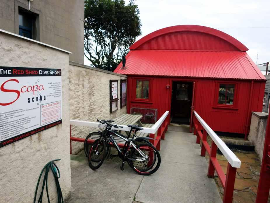 Scapa Scuba dive shop Stromness Orkney Scotland