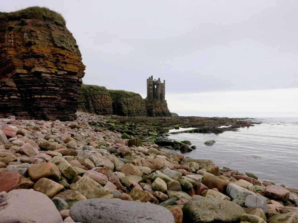 Old Keiss Castle Caithness Highlands Scotland