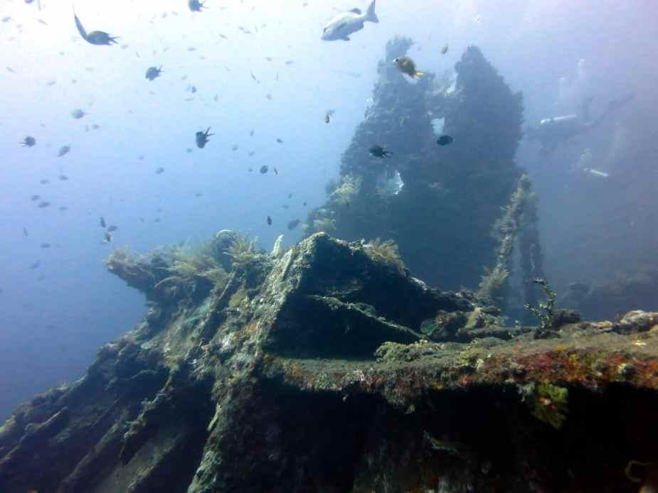 Liberty shipwreck - Diving in Tulamben - Bali