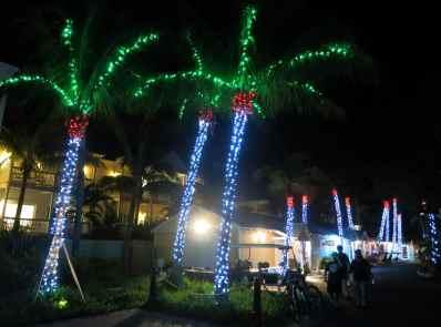 Key West by night Florida USA