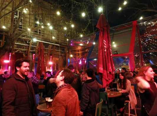 Fogas Kert Ruin Pub Budapest Hungary