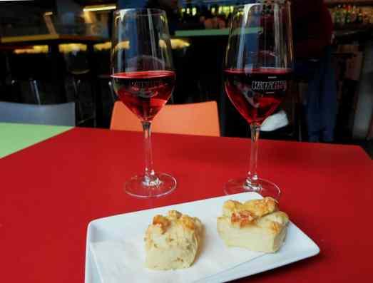 Wine tasting at Kardarka wine bar Budapest Hungary
