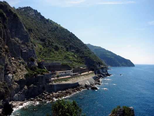 Manarola Train Station Cinque Terre Italy