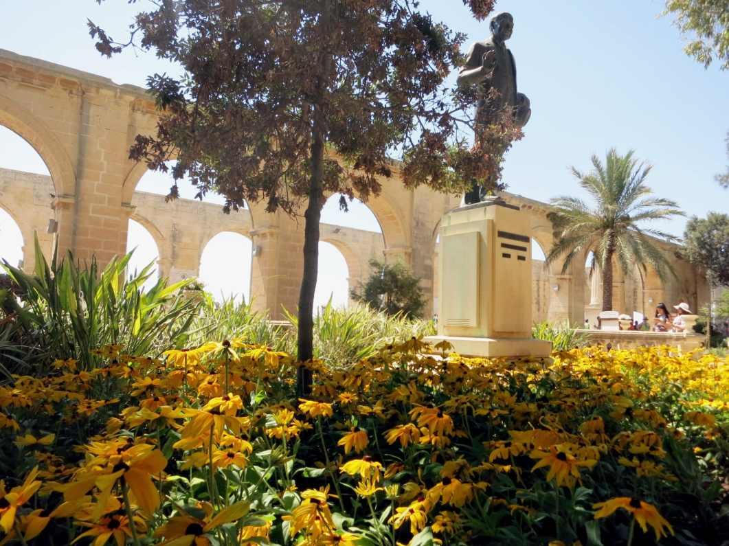 Upper Barraka gardens Valetta Malta