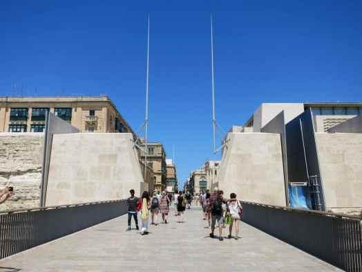 Entrance Gate Valetta Malta