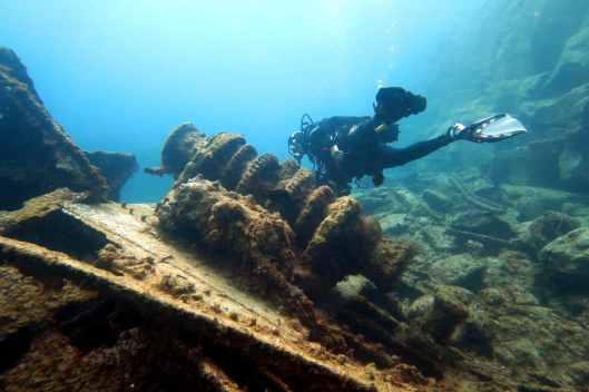 El Condesito Shipwreck Tenerife
