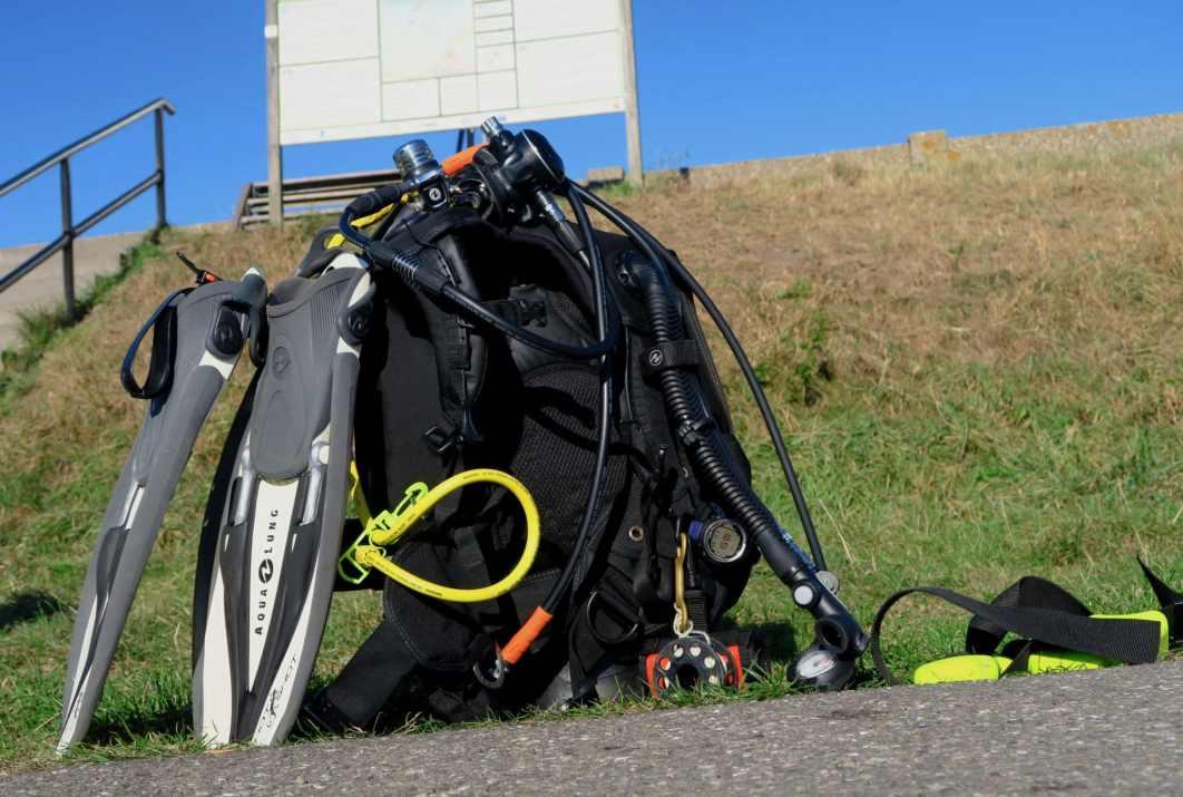 Scuba diving in Scharendijke Zeeland Netherlands