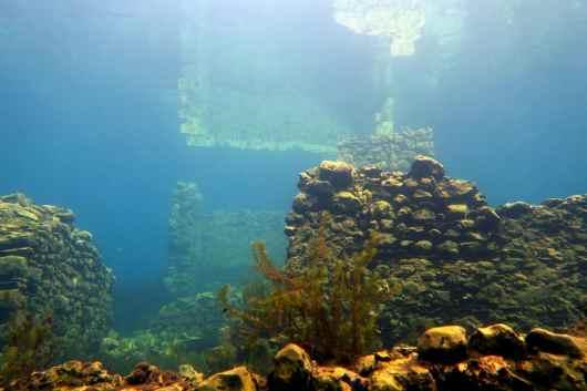 scuba diving by day Capodacqua Lake Italy