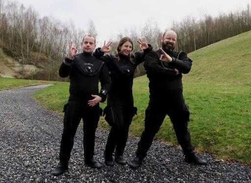 Dry Suit Tour Aqua Lung 2017 Dour Belgium